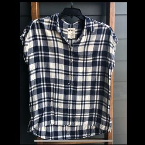 AE Short Sleeve Flannel